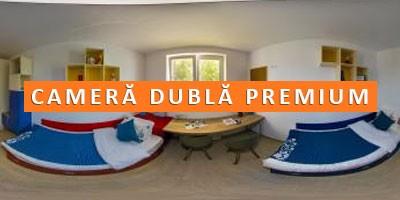 camera dubla premium camin privat Arcca